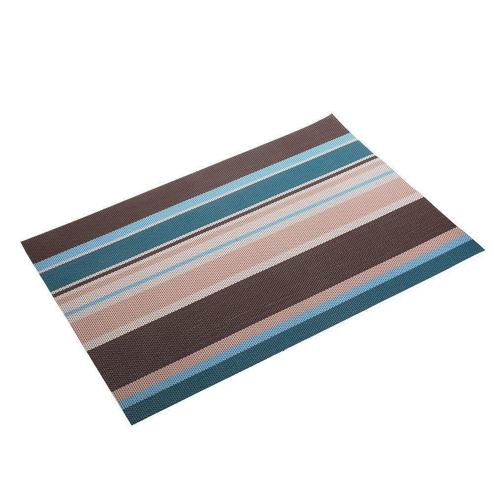 Picture Of Amorus Washable Placemats Heat Insulation Nonslip Table Mats  For Kitchen Dining Set