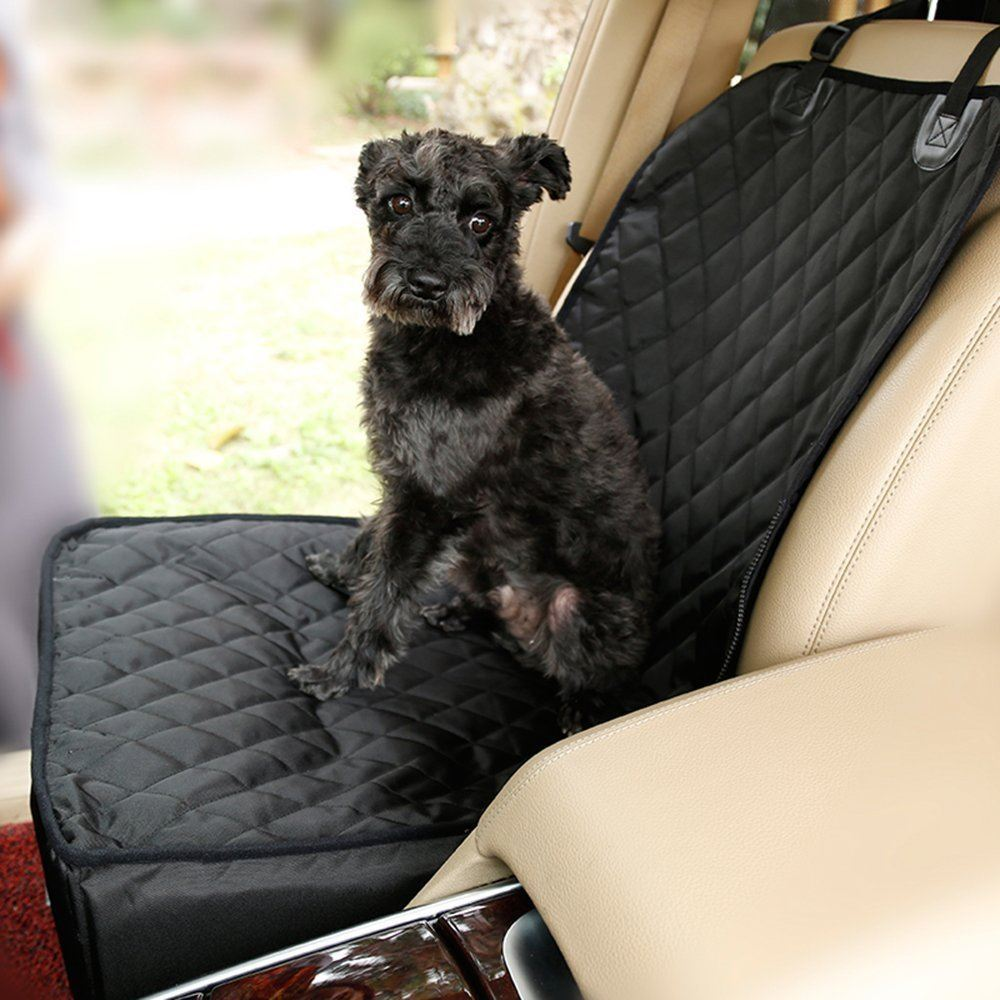 picture of 2in1 design waterproof dog car front seat covers for vehicles