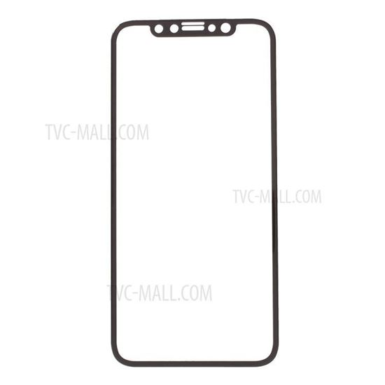 the best attitude a2181 f2b57 amorus. AMORUS for iPhone X(Ten) 0.3mm Full Size 3D Curved Tempered ...